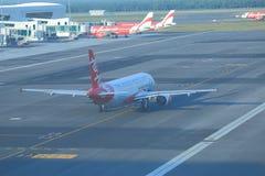 Avion d'Air Asia Image libre de droits
