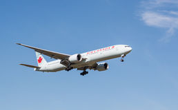 Avion d'Air Canada Images stock