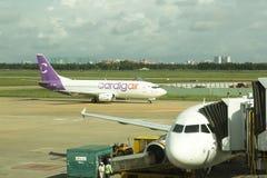 Avion d'air de Cardig débarqué en Ho Chi Minh Image libre de droits