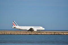 Avion d'Air France Images libres de droits