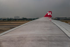 Avion d'AirAsia Photo stock