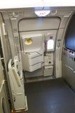Avion d'Airbus A380 à l'intérieur Photo stock