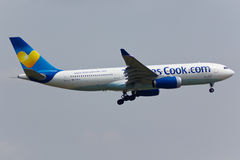 Avion d'Airbus A330 Photos stock