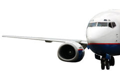 Avion d'atterrissage d'isolement Images libres de droits