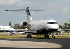 Avion d'avion à réaction d'affaires image libre de droits