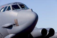 Avion d'avion à réaction de bombardier de B-52 Stratofortress image stock