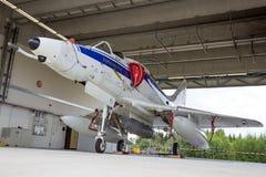 Avion d'avion de chasse d'A-4 Skyhawk Photographie stock libre de droits