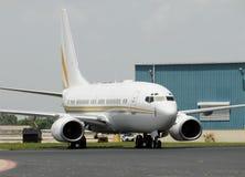 Avion d'avion de passagers image libre de droits