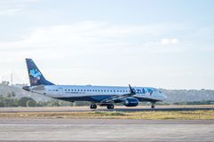 Avion d'Azul Airlines Photographie stock