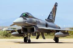 Avion d'avion de chasse d'Eurofighter Typhoon Photographie stock