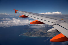 Avion d'EasyJet Image stock