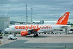Avion d'EasyJet A-319 Photos libres de droits