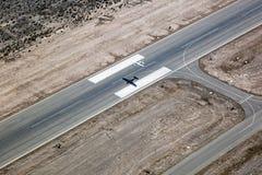 Avion d'engine simple Images libres de droits