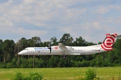 Avion d'Eurolot Image libre de droits