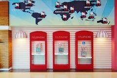 Avion d'Eva Air Hello Kitty Images stock