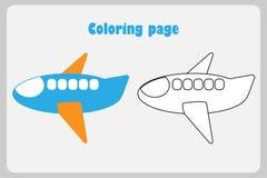 Avion de dessin anim illustration de vecteur - Dessin avion stylise ...
