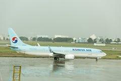 Avion de Boeing 737 Photos stock