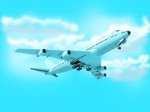 Avion de Boeing Passanger photos stock