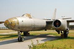 Avion de bombardier de cru photo libre de droits