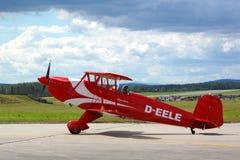 Avion de Bucker 131 Jungmann Images libres de droits