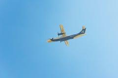 Avion de Buddha Air, Népal Image stock
