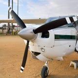 Avion de Cessna en Namibie Images stock