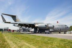 Avion de charge de C-17 Globemaster photos libres de droits