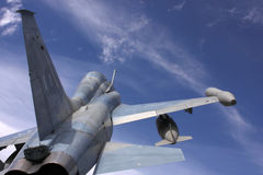 Avion de chasse images libres de droits