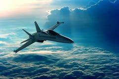 Avion de chasse Photographie stock libre de droits