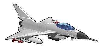 Avion de chasse illustration libre de droits