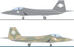 Avion de chasse Images stock