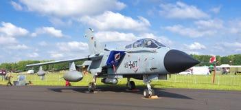 Avion de chasse allemand de tornade Images libres de droits