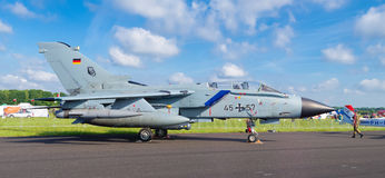 Avion de chasse allemand de tornade Photographie stock libre de droits