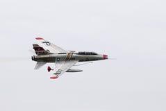 Avion de chasse d'Américain d'ère de guerre de Vietnam Image libre de droits