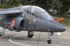 Avion de chasse de Dassault-Dornier Alpha Jet Photos libres de droits