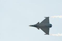Avion de chasse de Dassault Rafale Photos libres de droits