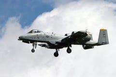 Avion de chasse du coup de foudre II de l'Armée de l'Air d'USA A-10 Photos stock