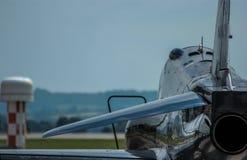 Avion de chasse militaire Images libres de droits