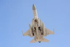 Avion de chasse militaire Photo libre de droits