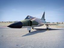 Avion de chasse retiré Images libres de droits