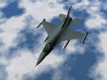 Avion de combat Photo stock