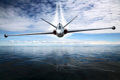 Avion de combat photographie stock