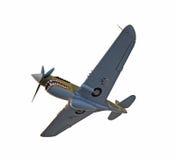Avion de combat d'ère de la deuxième guerre mondiale Image libre de droits