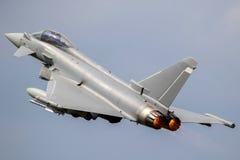 Avion de combat d'ouragan d'Eurofighter Photographie stock