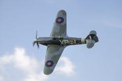 Avion de combat de Hurricane de colporteur images libres de droits