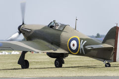 Avion de combat de Hurricane de colporteur Photo stock