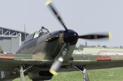 Avion de combat de Hurricane de colporteur Photo libre de droits