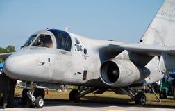 Avion de combat de marine des USA Images libres de droits