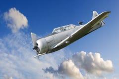 Avion de combat de propulseur de guerre Photo libre de droits