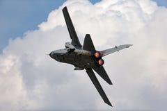 Avion de combat polyvalent MM7029 d'identification de l'Armée de l'Air de tornade italienne d'Aeronautica Militare Italiana Panav photographie stock libre de droits